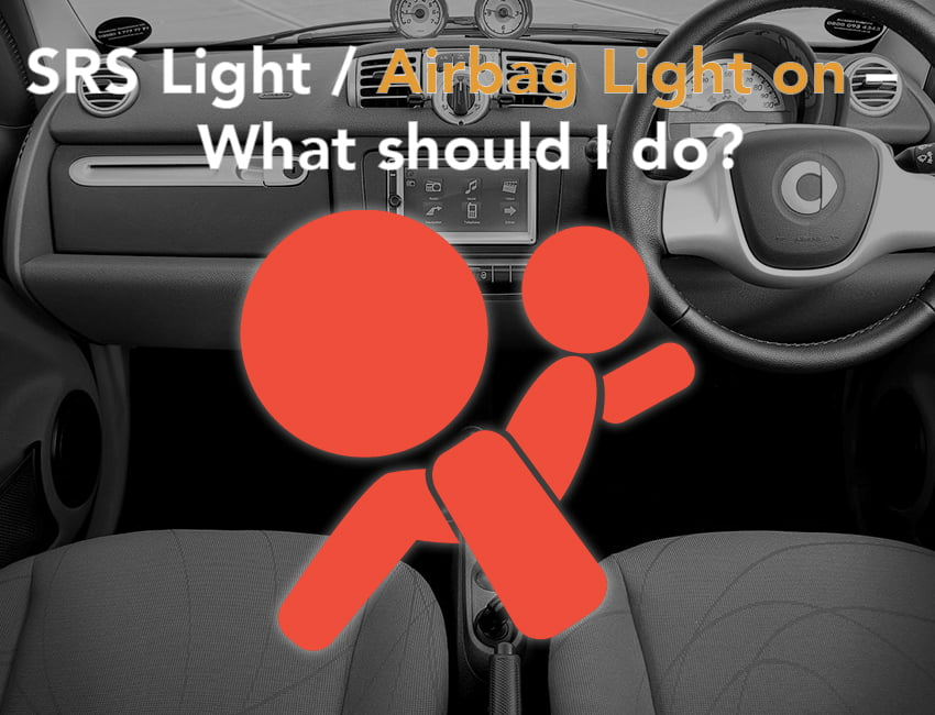 Although airbags are one of the most important safety features of a vehicle, there are many who are unfazed when realizing that their airbag warning light is on.