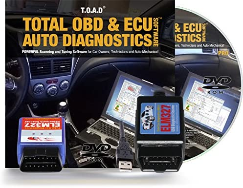 Total Car Diagnostics TOAD (Total OBD & ECU Auto Diagnostics) Software