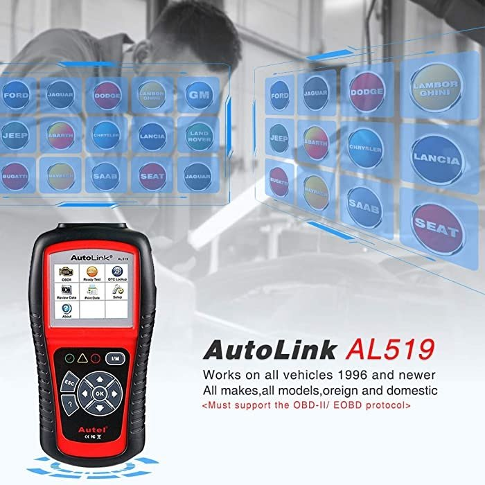 Autel AL519 works on all vehicles 1996 and newer.