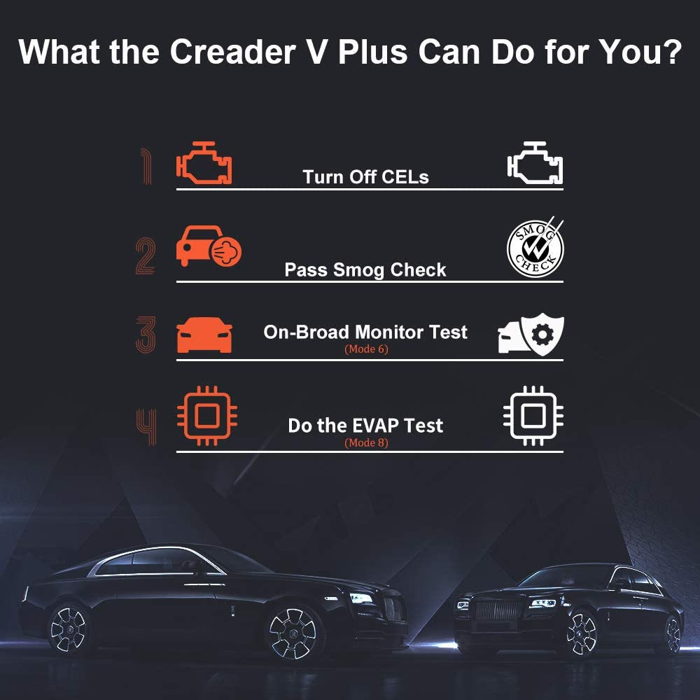 LAUNCH X431 Creader V Plus can do many functions