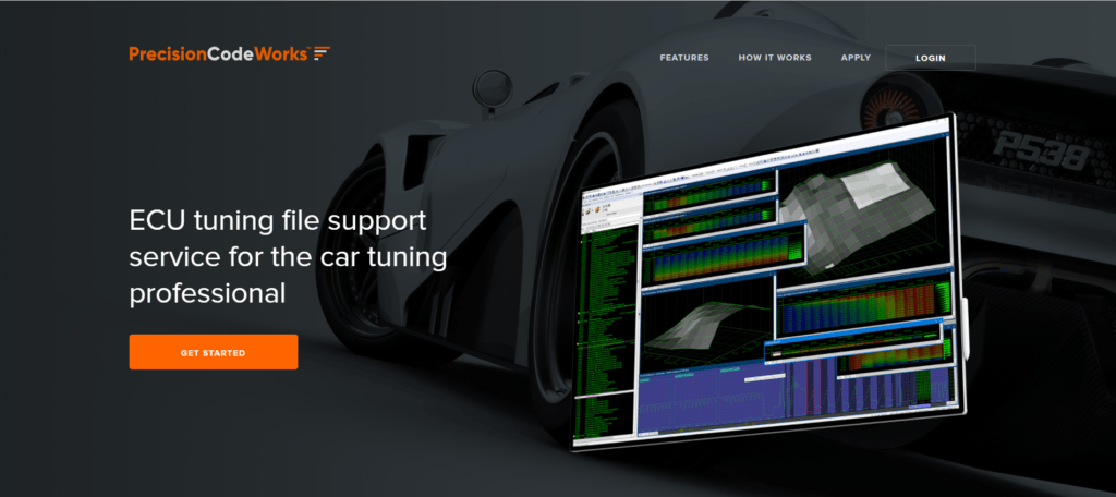 PrecisionCodeWorks is a professional car tuning software.
