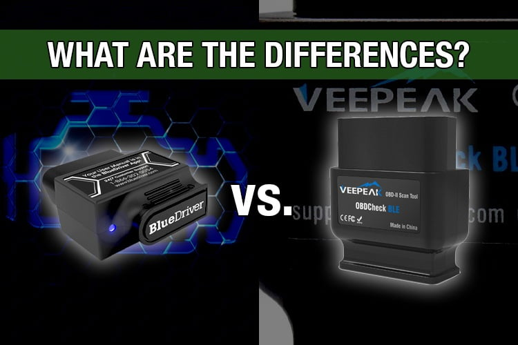 Bluedriver vs veepeak ble comparison and review
