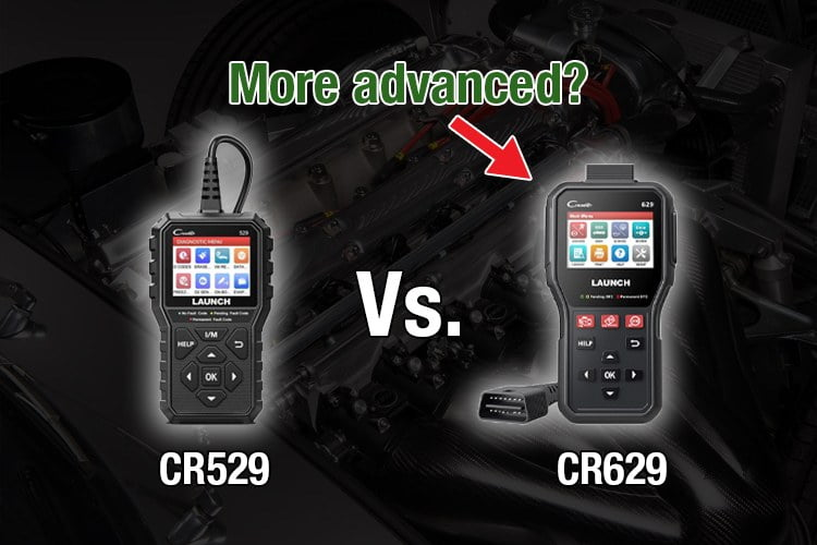 launch cr529 vs cr620 review and comparison